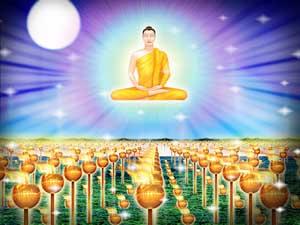 Lord Buddha attains Nirvana